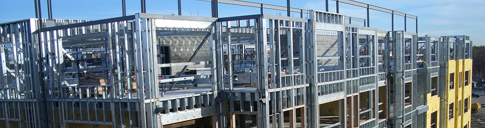 the development of industry standards building codes and construction methods that maximize these unique qualities of cold formed steel framing